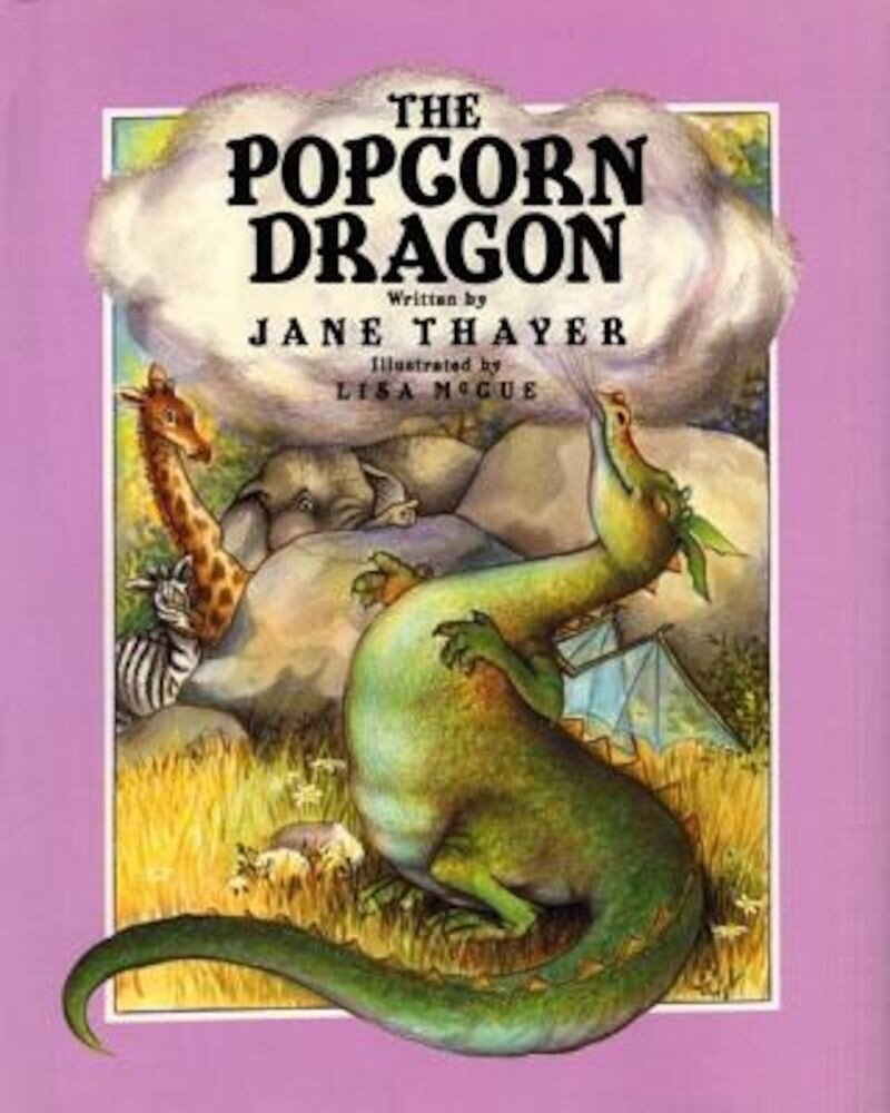 The Popcorn Dragon, Hardcover