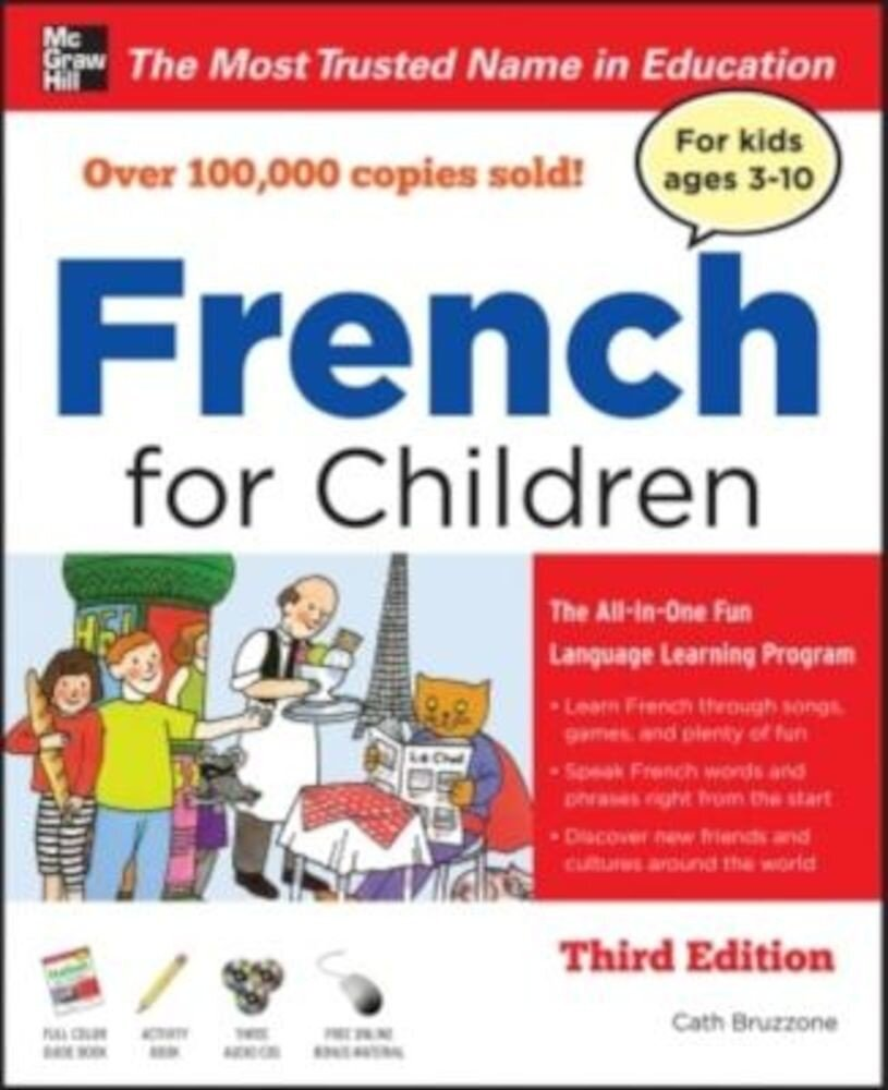 French for Children with Three Audio CDs, Third Edition [With CD (Audio)], Paperback