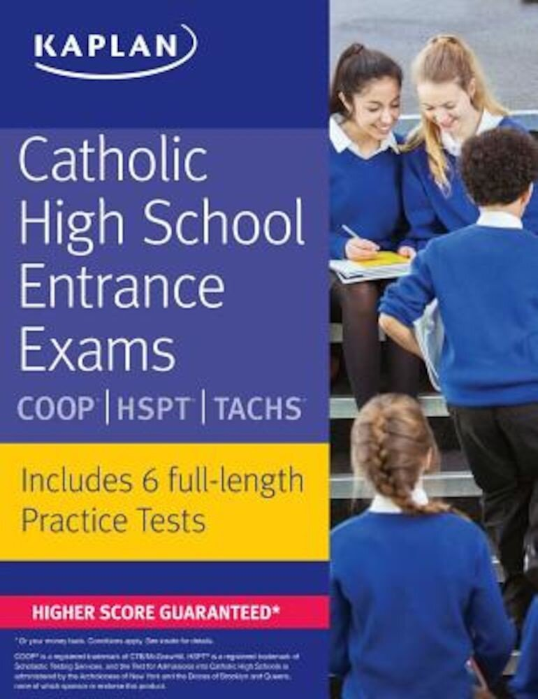 Catholic High School Entrance Exams: COOP HSPT Tachs, Paperback