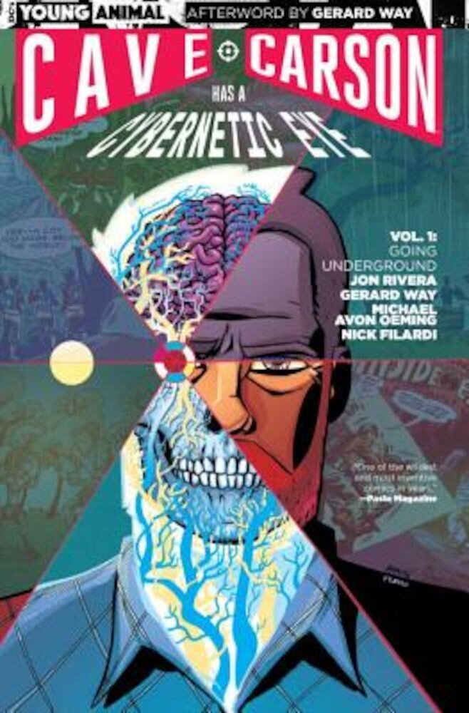Cave Carson Has a Cybernetic Eye Vol. 1: Going Underground, Paperback
