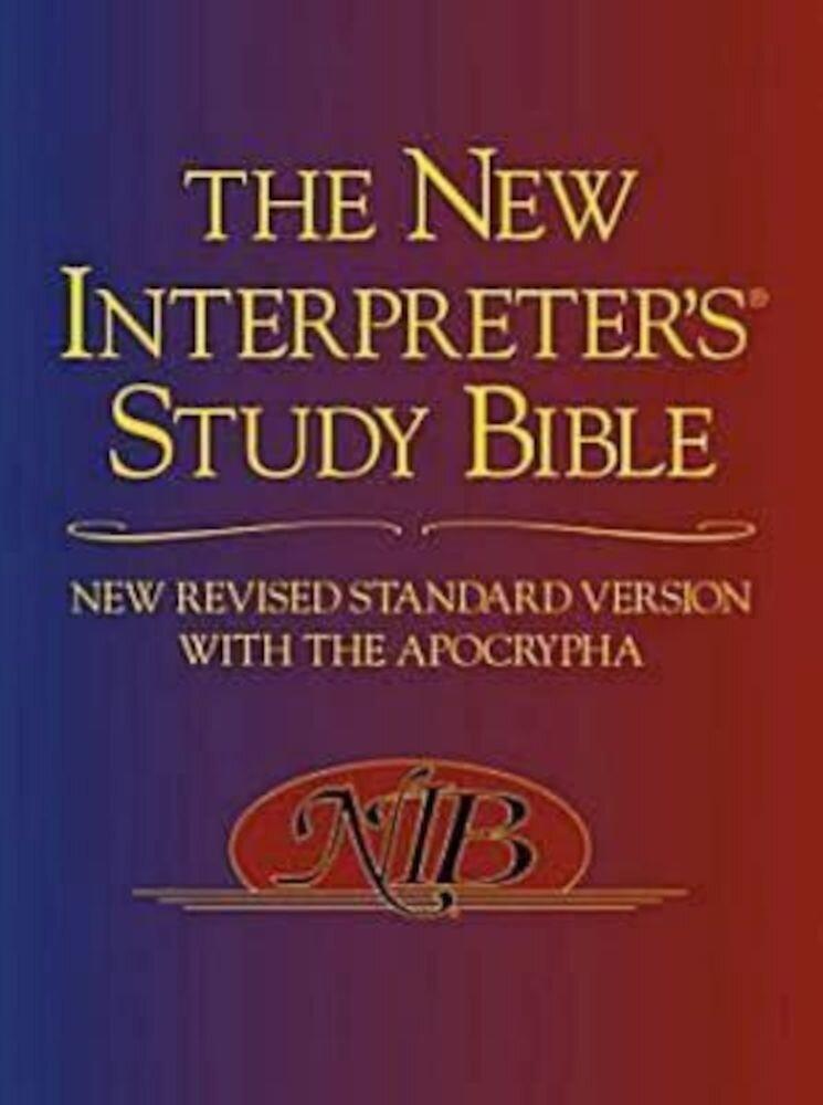 New Interpreter's Study Bible-NRSV, Hardcover