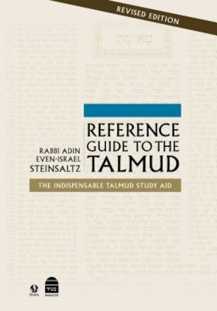 Reference Guide to the Talmud: Fully Revised, Hardcover