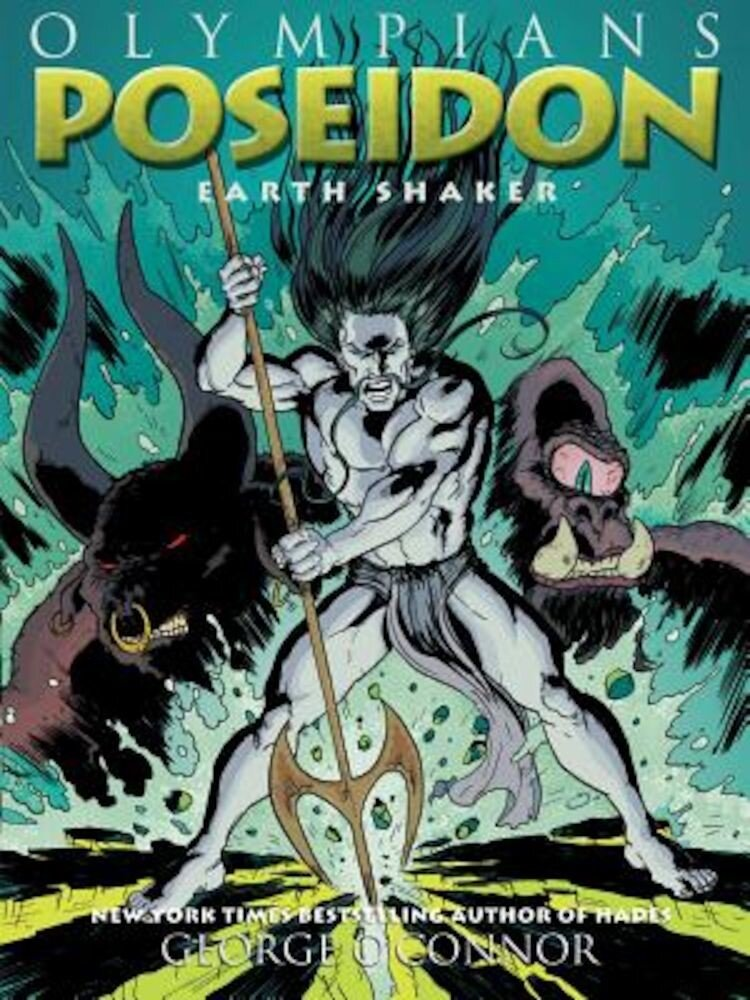 Poseidon: Earth Shaker, Hardcover