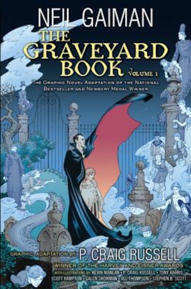The Graveyard Book Graphic Novel: Volume 1, Hardcover