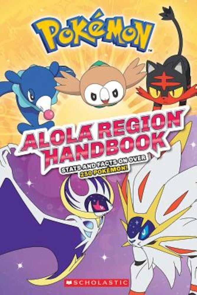 Alola Region Handbook, Paperback