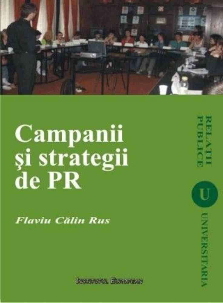 Coperta Carte Campanii si strategii de PR