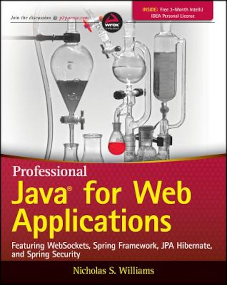 Professional Java for Web Applications, Paperback