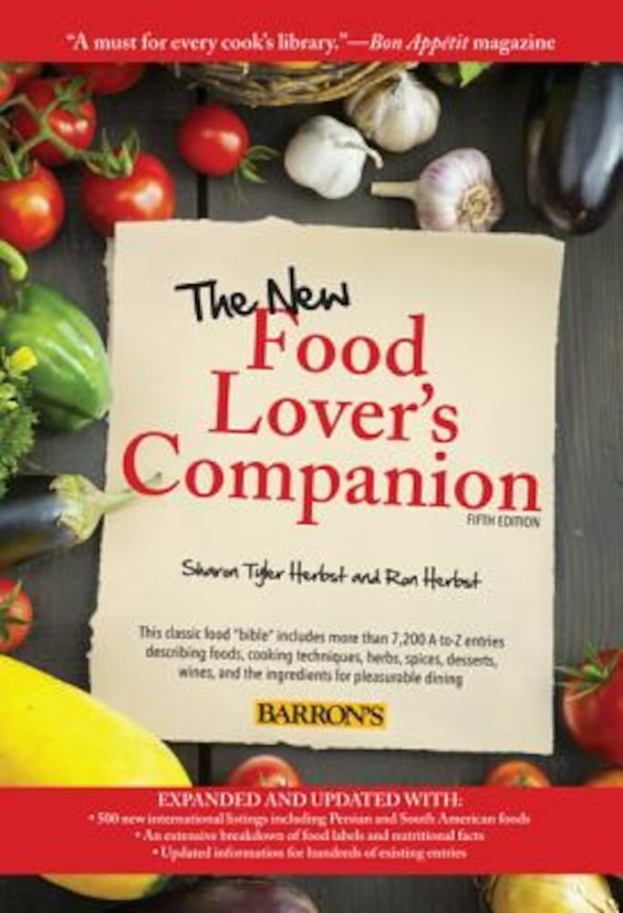 The New Food Lover's Companion, Paperback