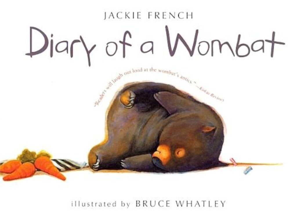 Diary of a Wombat, Hardcover