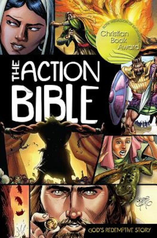 The Action Bible: God's Redemptive Story, Hardcover