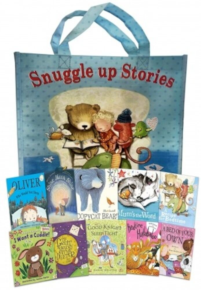 Snuggle Up Stories Collection 10 Books Set in Bag