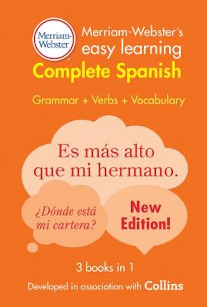 Merriam-Webster's Easy Learning Complete Spanish, Paperback
