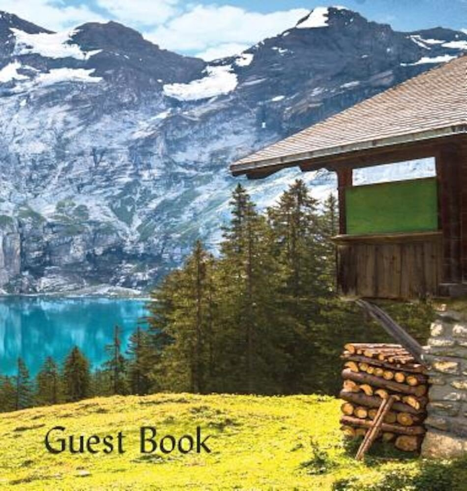 Guest Book (Hardback), Visitors Book, Guest Comments Book, Vacation Home Guest Book, Cabin Guest Book, Visitor Comments Book, House Guest Book: Commen, Hardcover