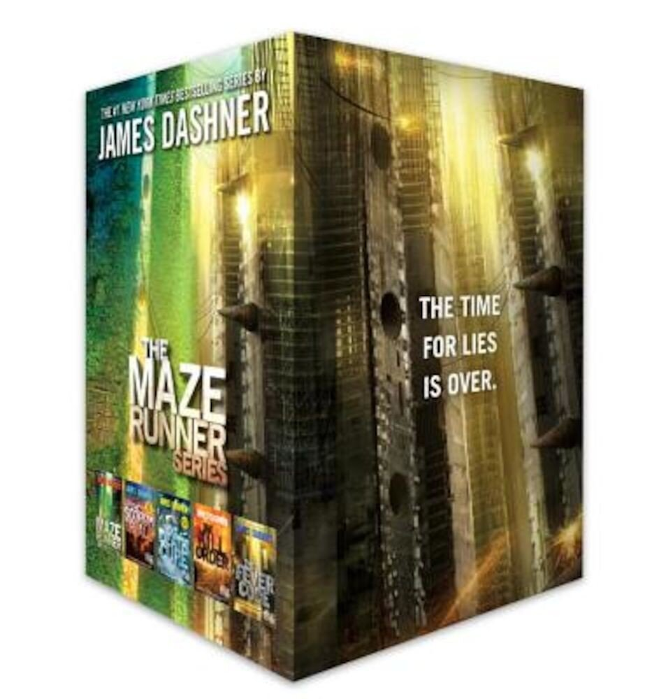 The Maze Runner Series Complete Collection Boxed Set, Hardcover