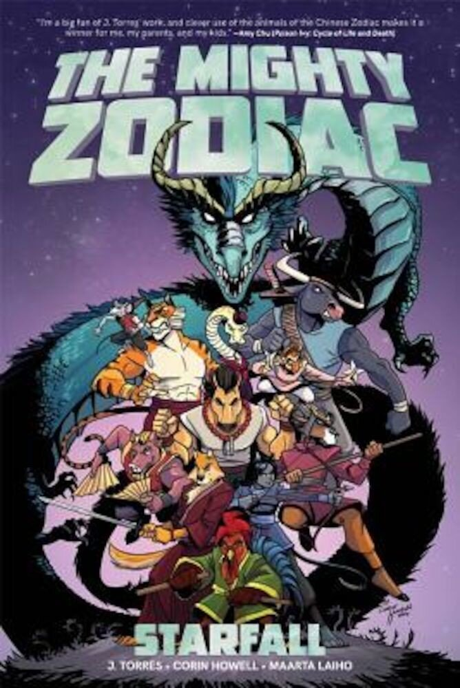 The Mighty Zodiac, Volume 1: Starfall, Paperback