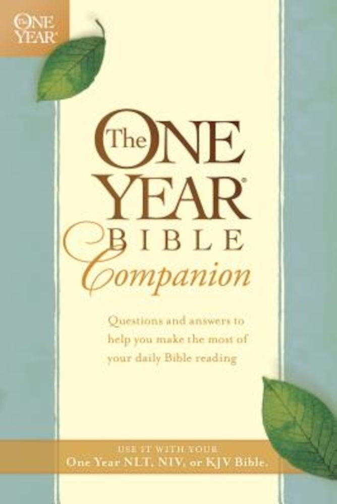 The One Year Bible Companion, Paperback