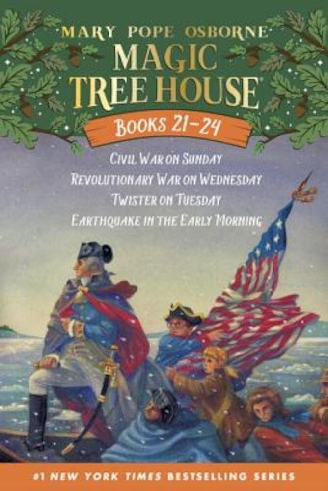 Magic Tree House Volumes 21-24 Boxed Set: American History Quartet, Paperback