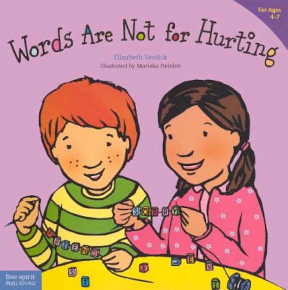 Words Are Not for Hurting, Hardcover