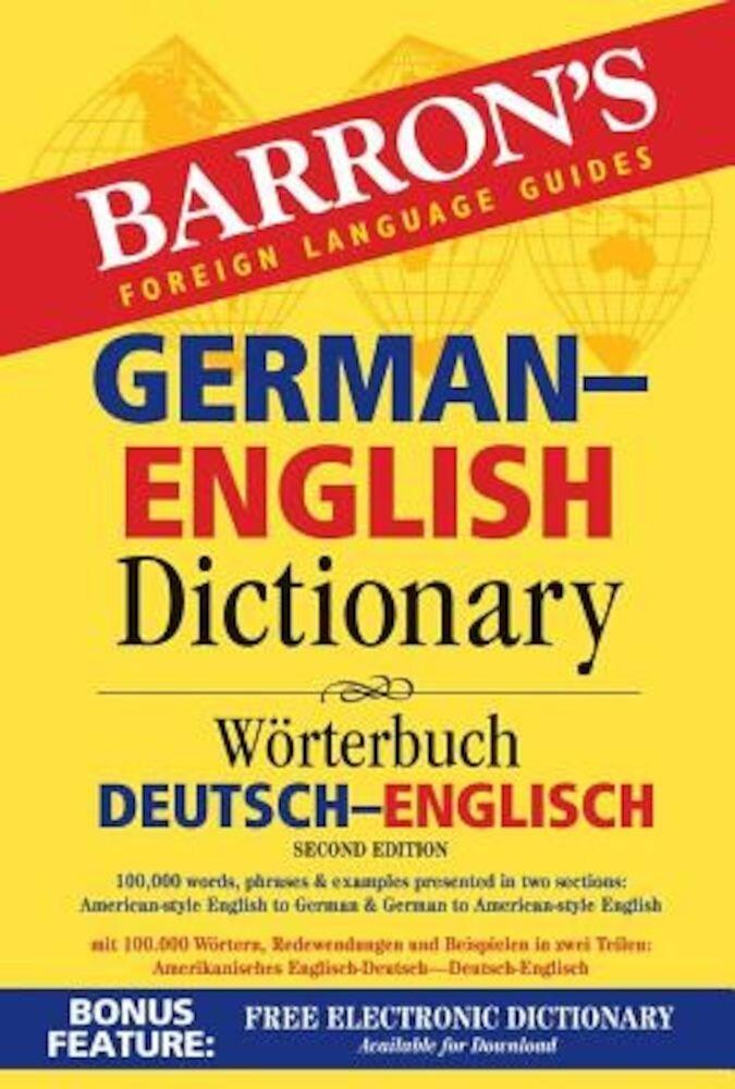Barron's German-English Dictionary: Worterbuch Deutsch-Englisch, Paperback