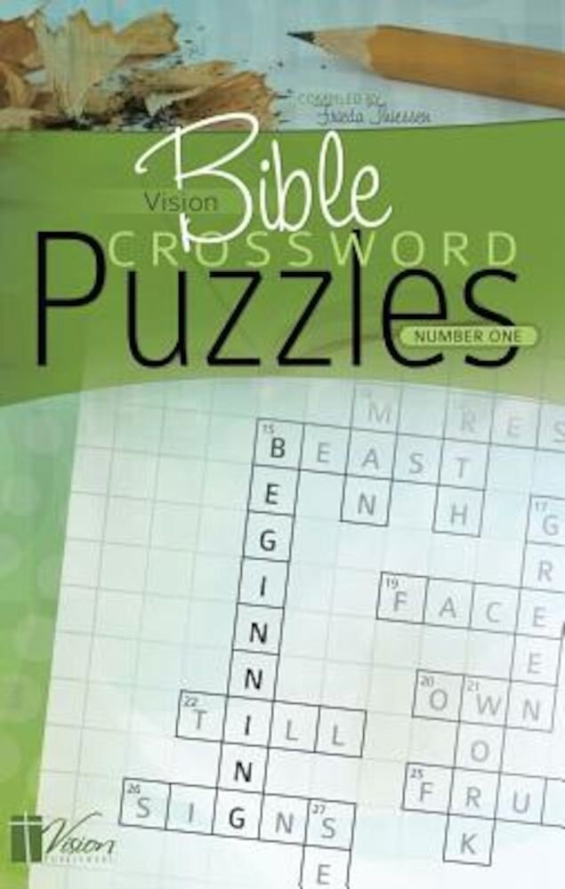 Vision Bible Crossword Puzzles, Number One, Paperback