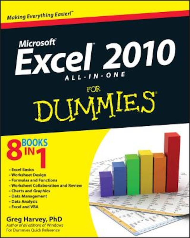 Excel 2010 All-In-One for Dummies, Paperback