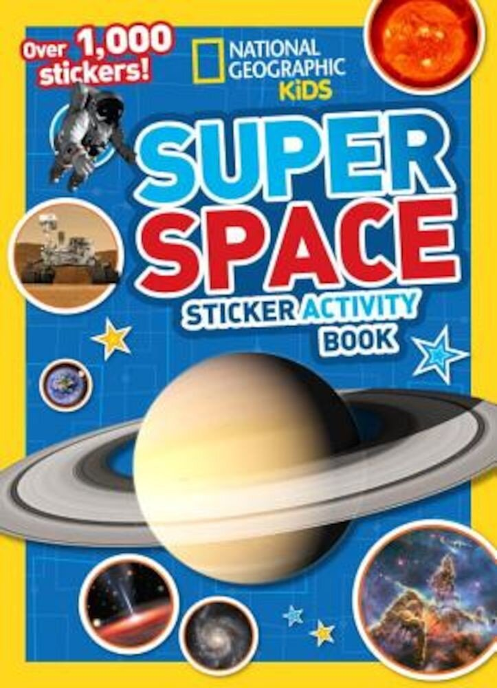 Super Space Sticker Activity Book, Paperback