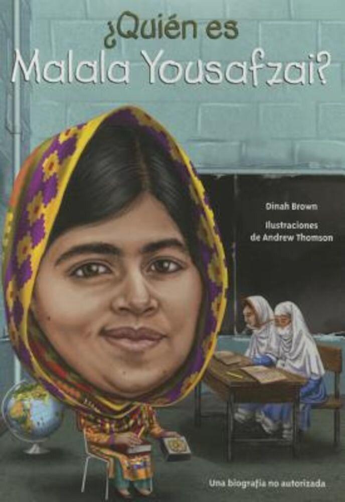 Quien Es Malala Yousafzai?, Paperback
