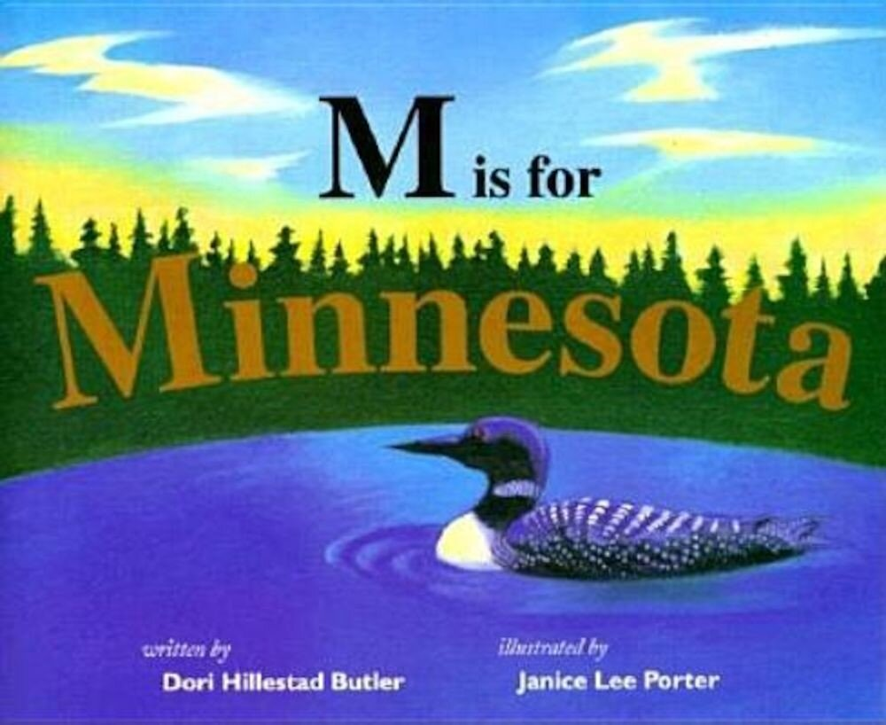 M is for Minnesota, Hardcover