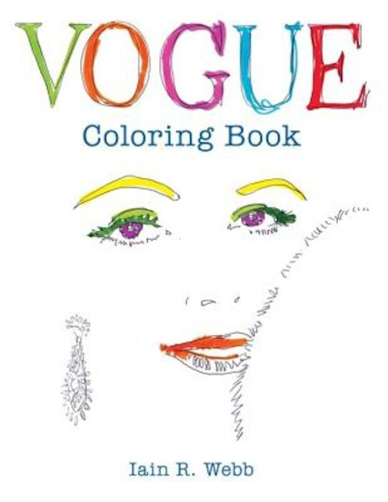 Vogue Coloring Book, Paperback