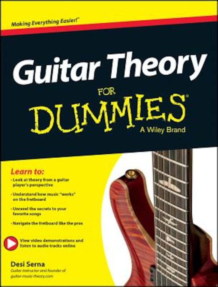 Guitar Theory for Dummies: Book + Online Video & Audio Instruction, Paperback