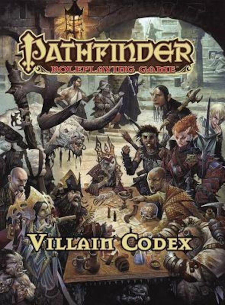 Pathfinder Roleplaying Game: Villain Codex, Hardcover