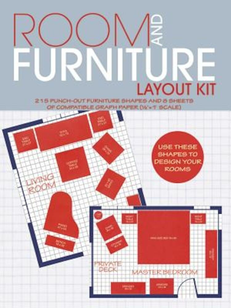 Room and Furniture Layout Kit, Paperback