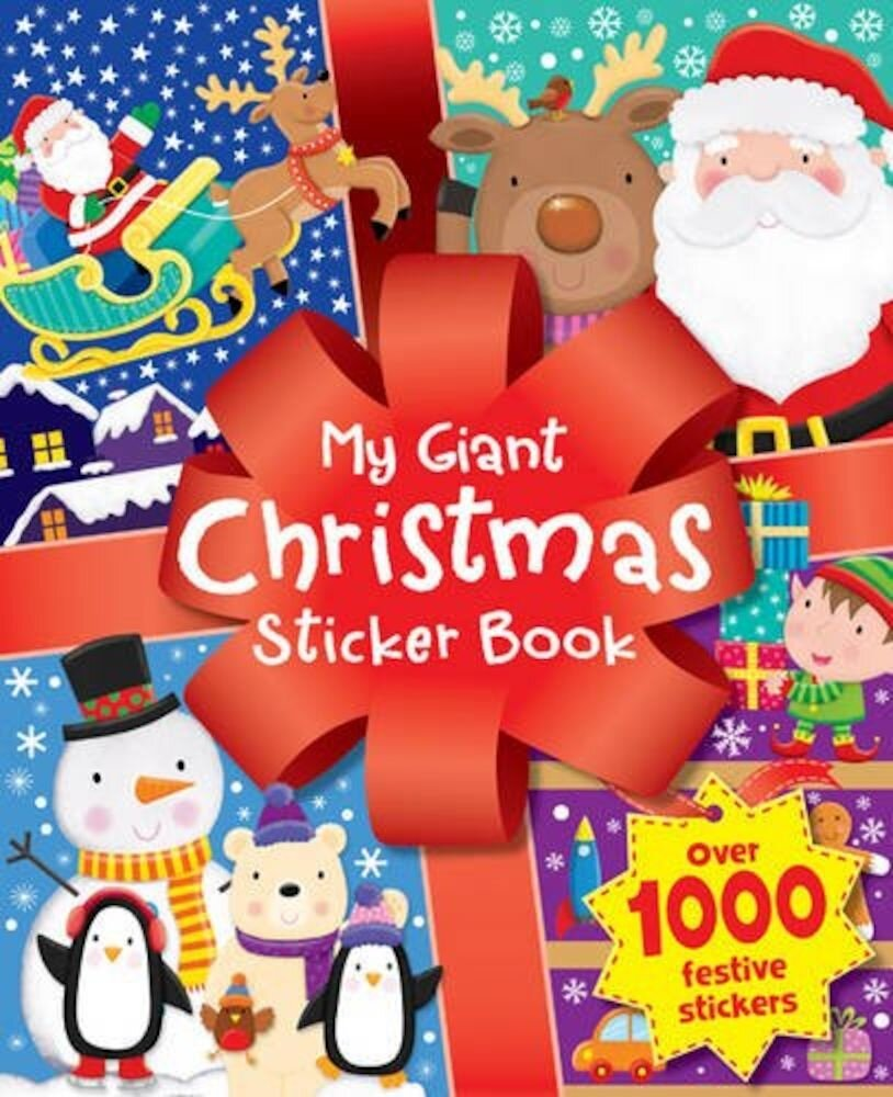 Christmas Time Sticker Fun