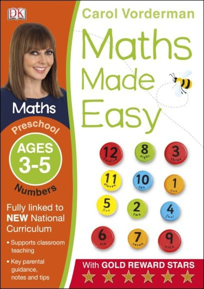 Coperta Carte Maths Made Easy Numbers Preschool Ages 3-5
