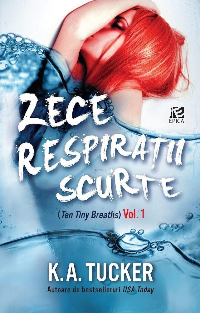 Coperta Carte Zece respiratii scurte. Vol. 1