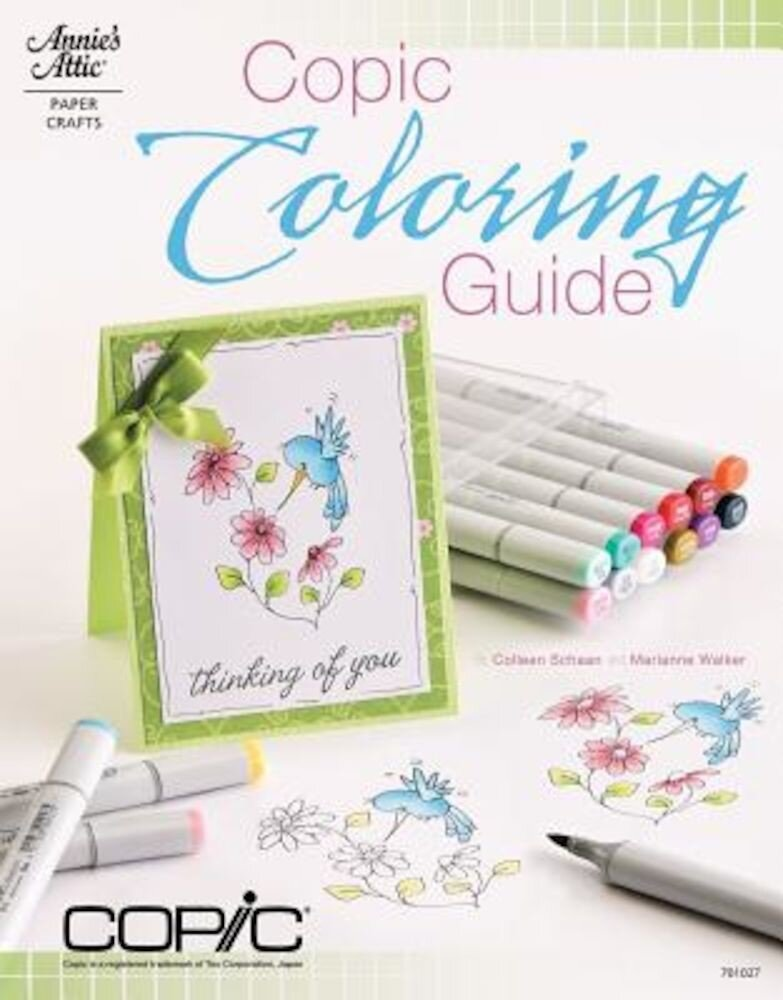 Copic Coloring Guide, Paperback