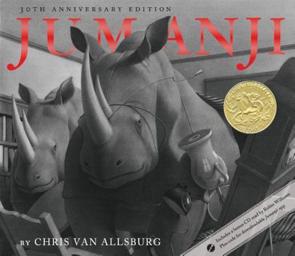 Jumanji 30th Anniversary Edition, Hardcover