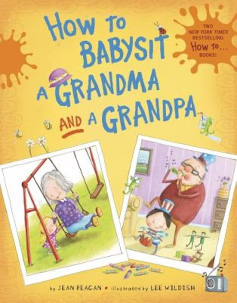 How to Babysit a Grandma and a Grandpa Set, Hardcover