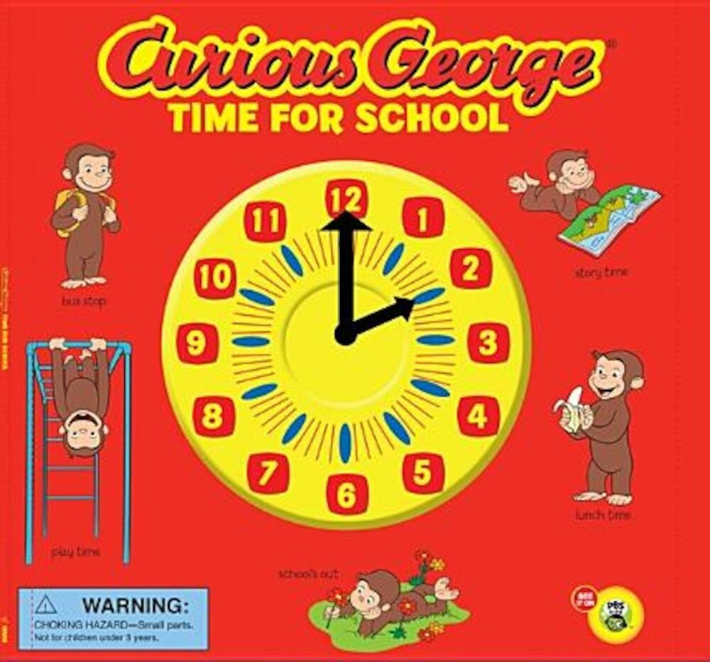 Curious George: Time for School, Paperback