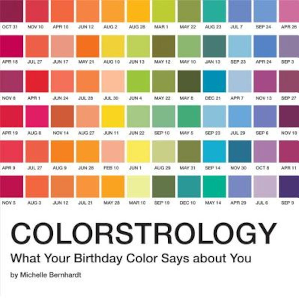 Colorstrology: What Your Birthday Color Says about You, Paperback