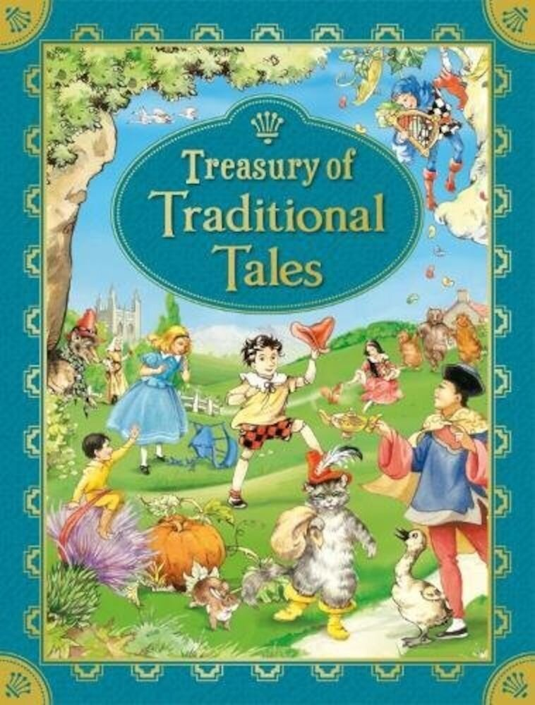 Treasury Of Traditional Tales New