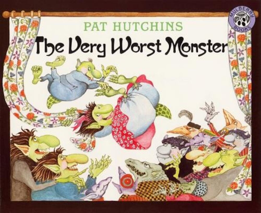 The Very Worst Monster, Paperback