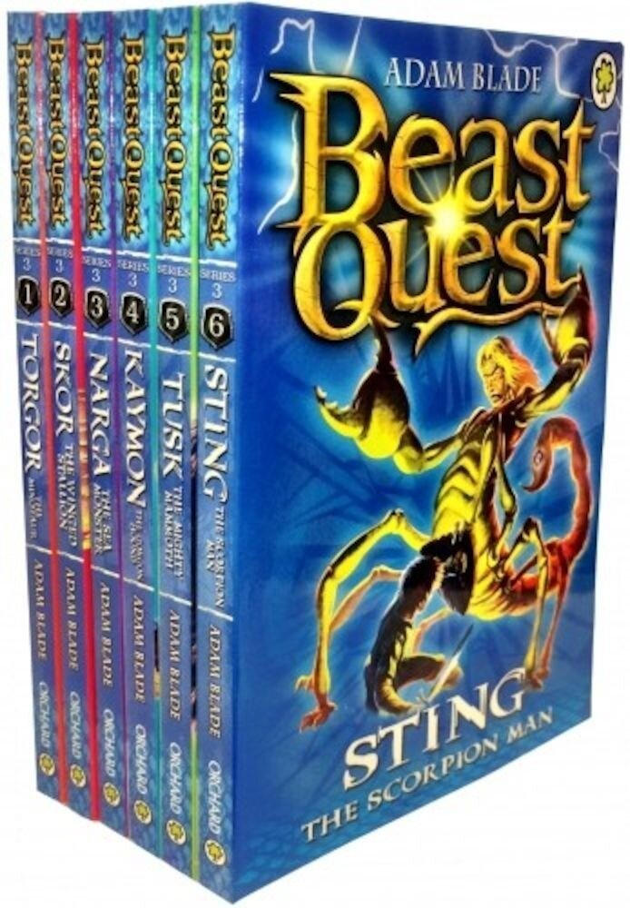 Beast Quest Series 3. The Dark Realm