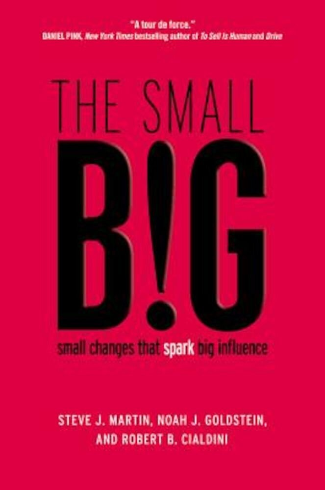 The Small Big: Small Changes That Spark Big Influence, Hardcover