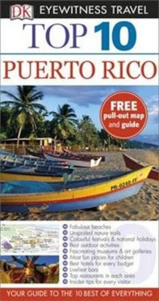 Eyewitness Top 10 Travel Guide: Puerto Rico - English version