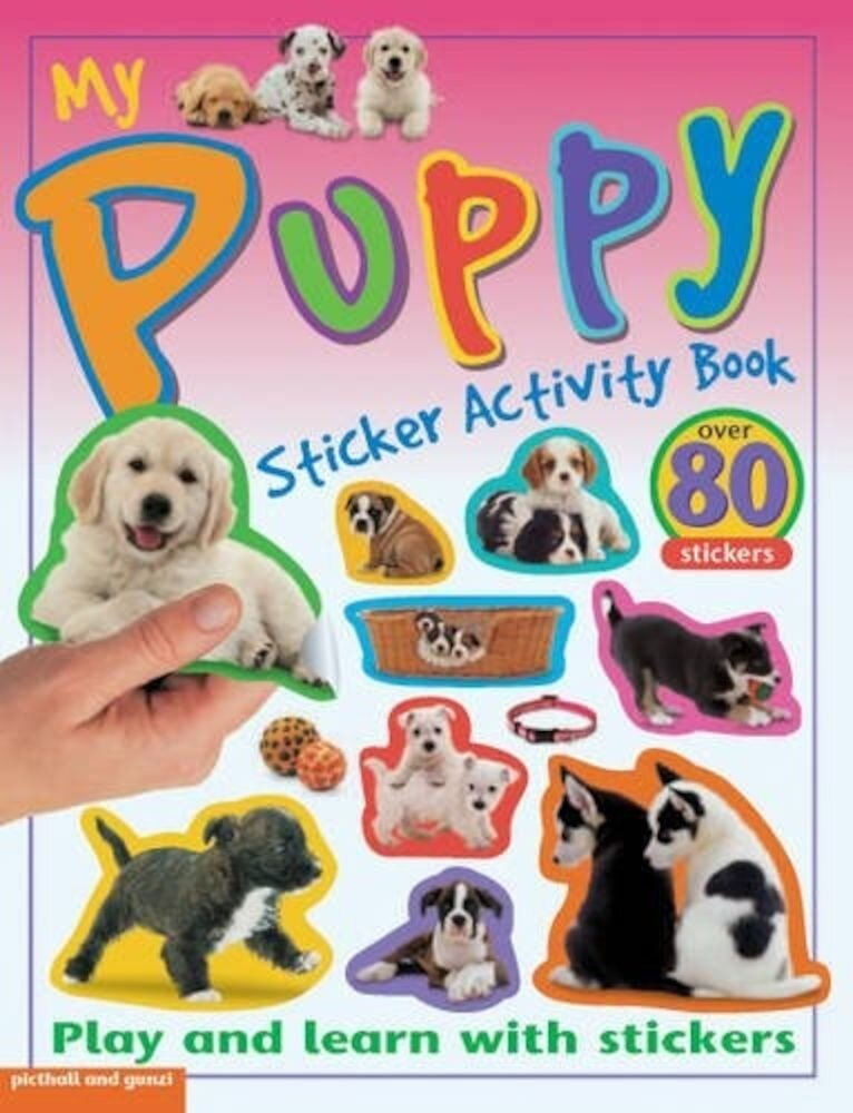 Coperta Carte My Sticker Activity Books Puppy