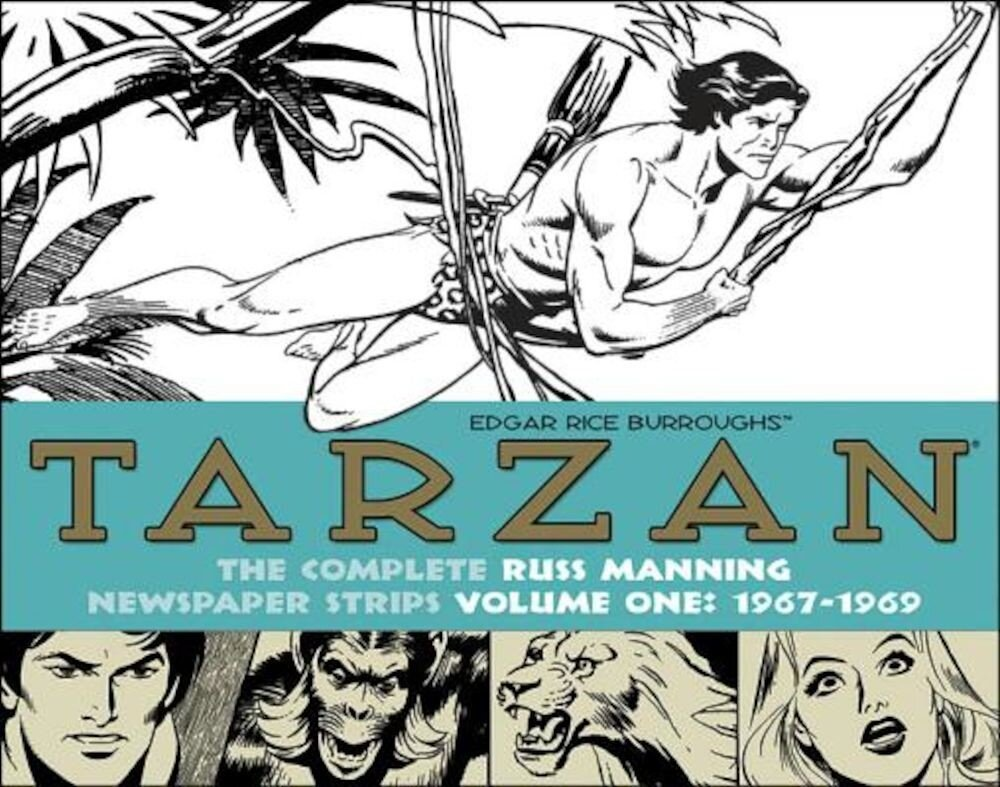 Tarzan: The Complete Russ Manning Newspaper Strips, Volume 1 1967-1969, Hardcover