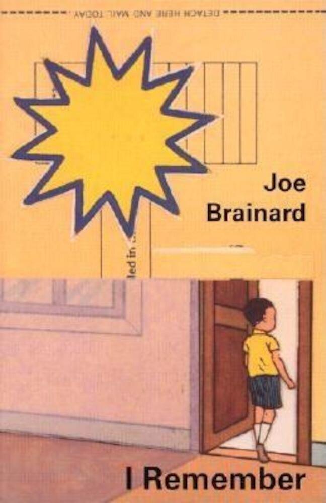 Joe Brainard: I Remember, Paperback