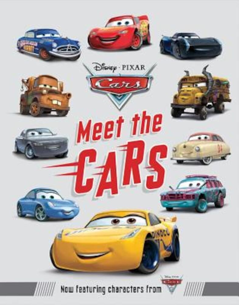 Meet the Cars, Hardcover