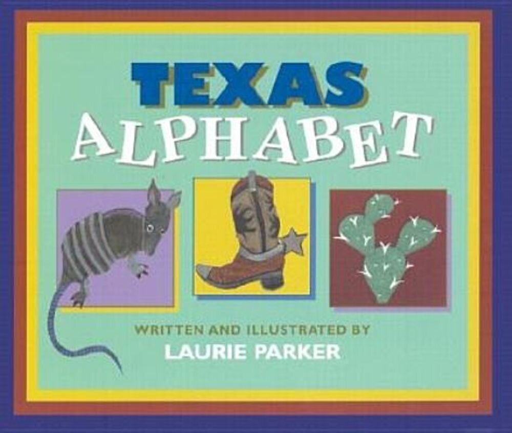 Texas Alphabet, Hardcover